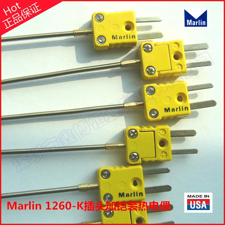 Marlin 1260-K热电偶插头+铠装热电偶