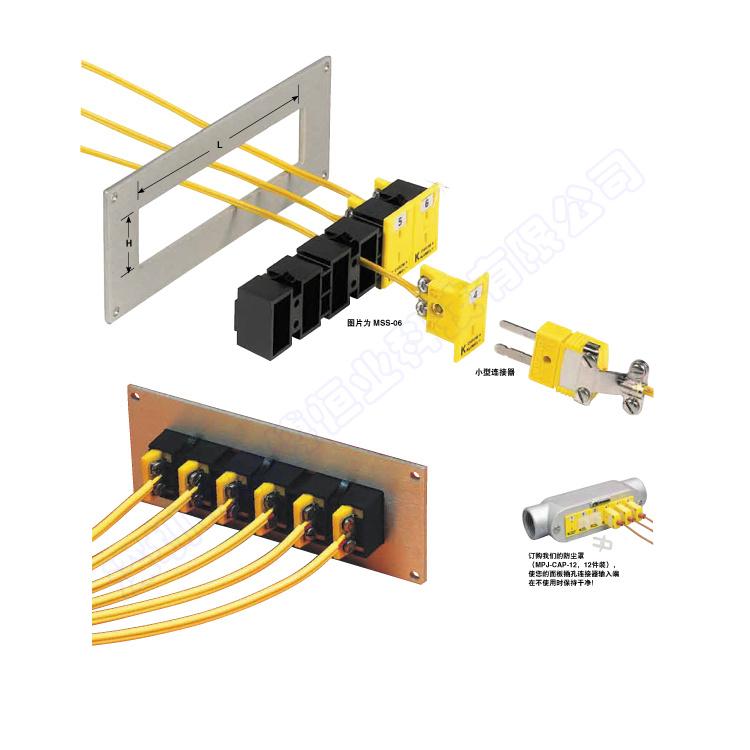 MSS热电偶插座安装支架|美国omega热电偶插座安装支架-使用例