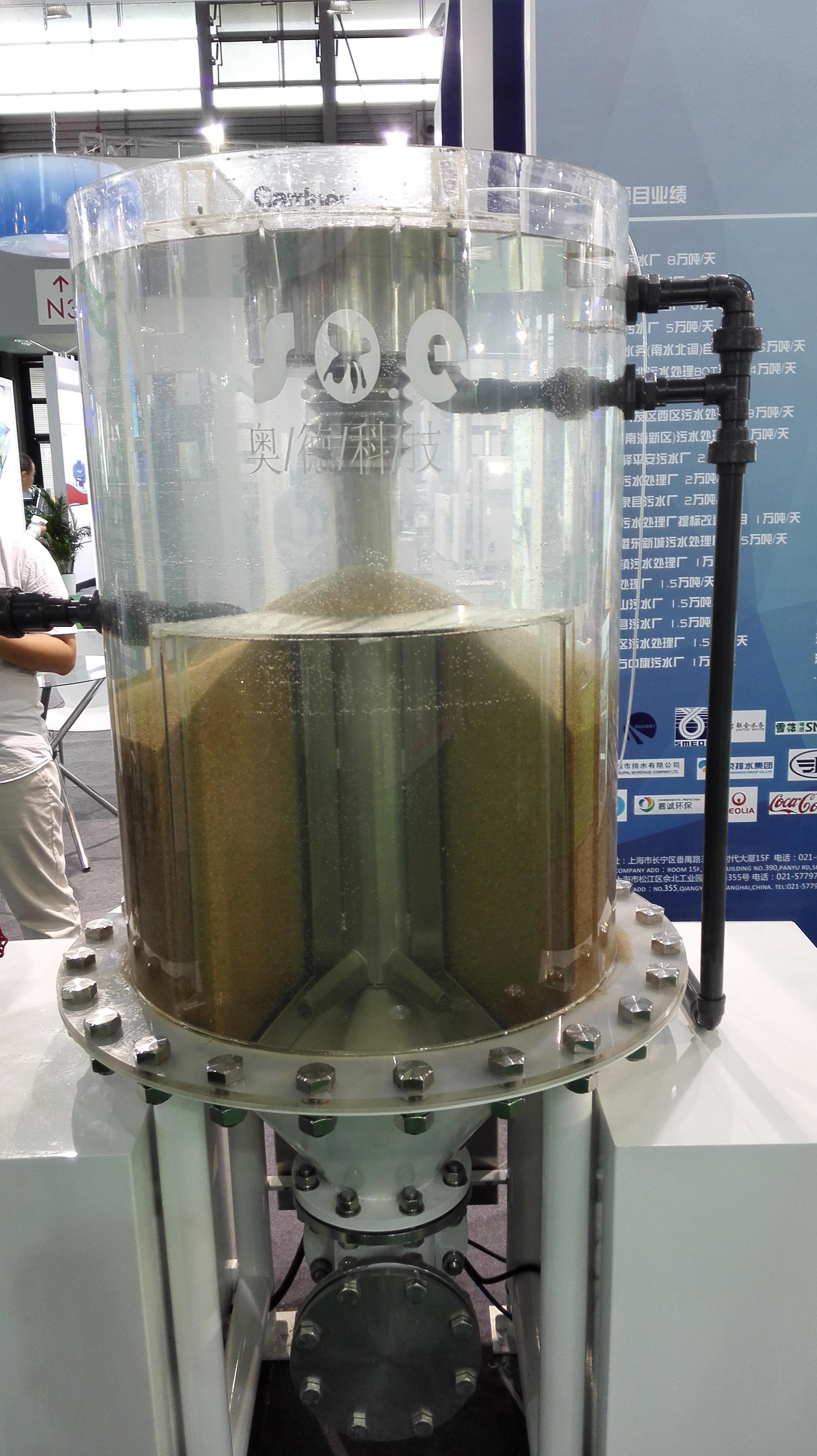 连续流砂过滤器1