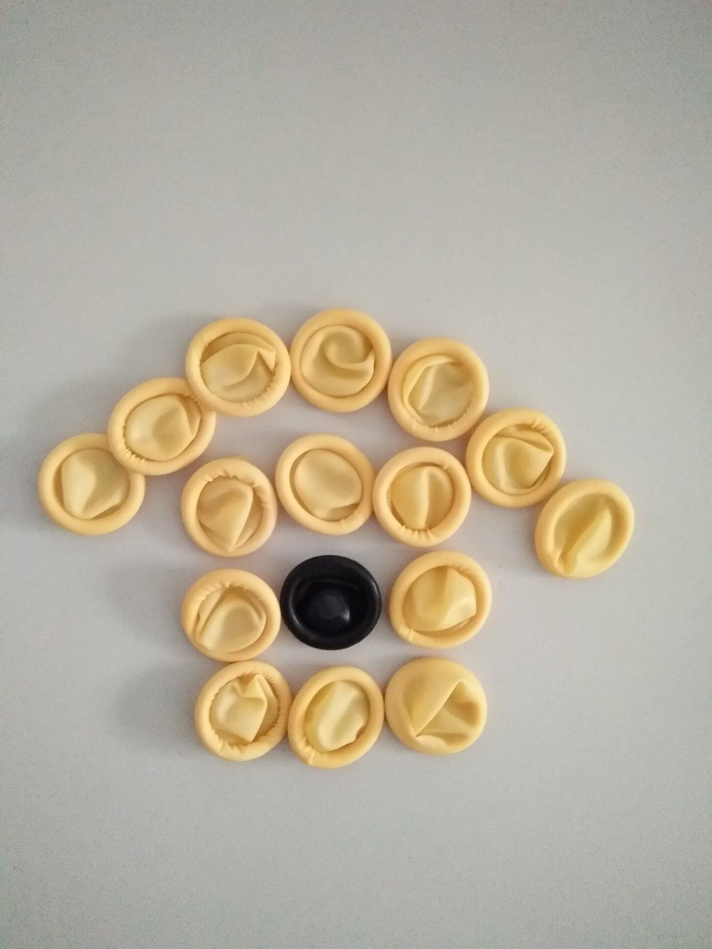 米黄色防静电手指套 深圳市仁山科技