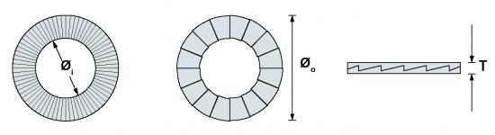 进口防松垫片韦德科技销售代理0755-2665 6615