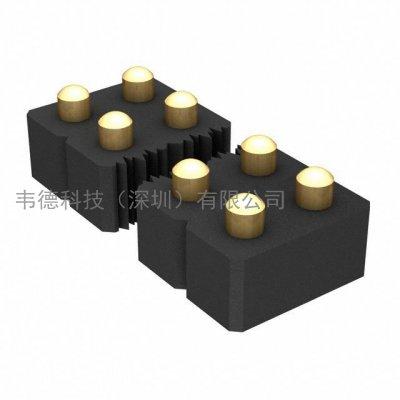 mill-max 406-43-206-30-068001_mill-max矩形连接器-针座,插座,母插口_韦德科技(深圳)有限公司