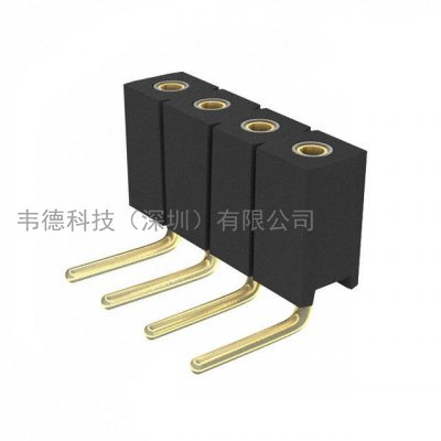 mill-max 851-xx-004-20-001000_ mill-max矩形连接器-针座,插座,母插口_韦德科技(深圳)有限公司