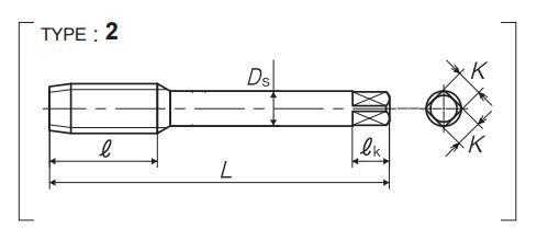 R-Y型无槽丝锥-韦德科技(深圳)有限公司