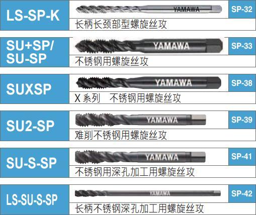 yamawa不锈钢丝锥种类-韦德科技(深圳)有限公司