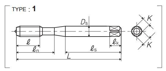 yamawa不锈钢螺旋丝锥图片解析-韦德科技(深圳)有限公司