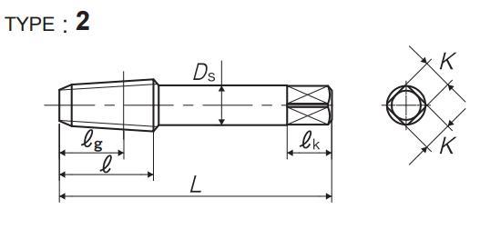 RC(ISO)管用丝锥图形解析-韦德科技(深圳)有限公司