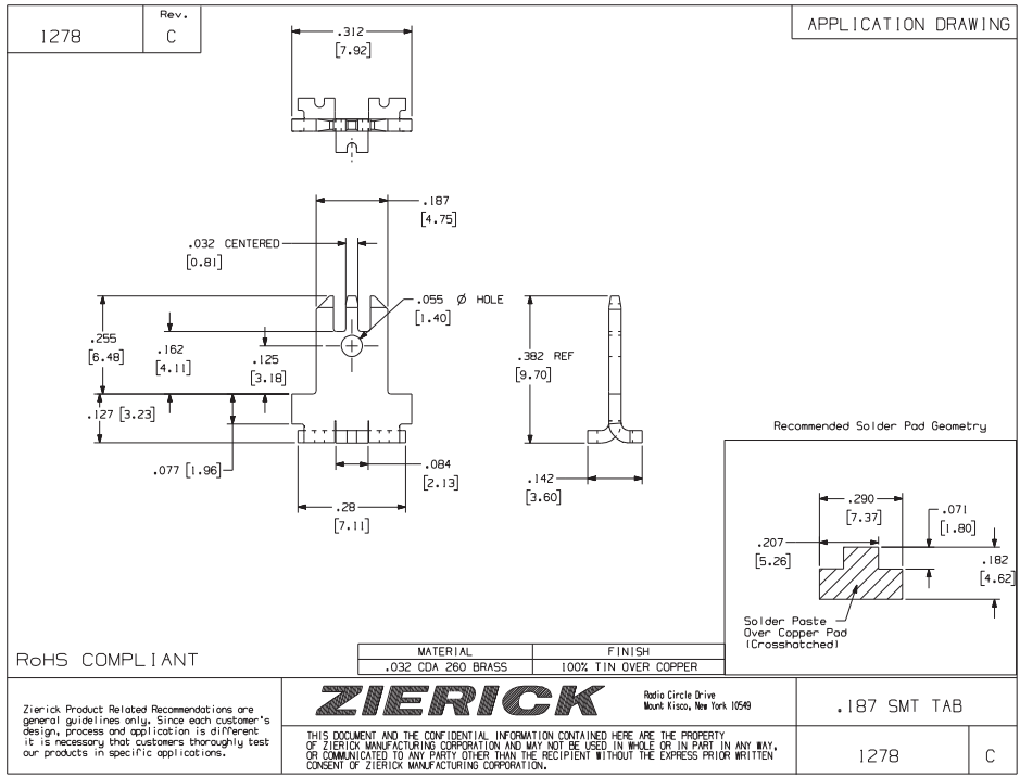ZIERICK快速断开终端_连接器1278技术应用图_韦德科技(深圳)有限公司0755-2665 6615