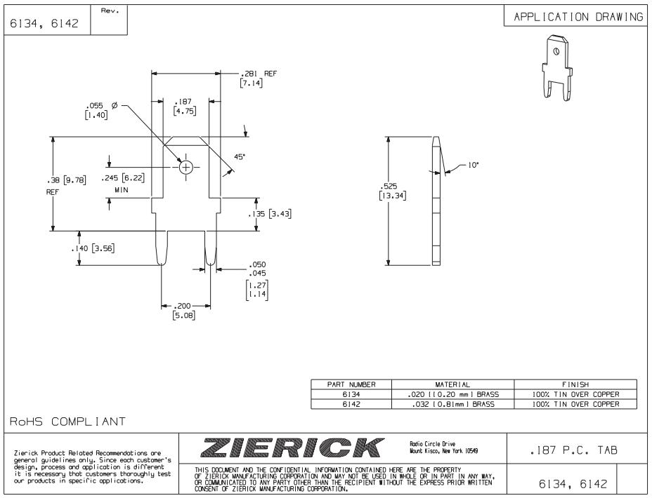 ZIERICK快速斷開終端_連接器6142_技術應用圖