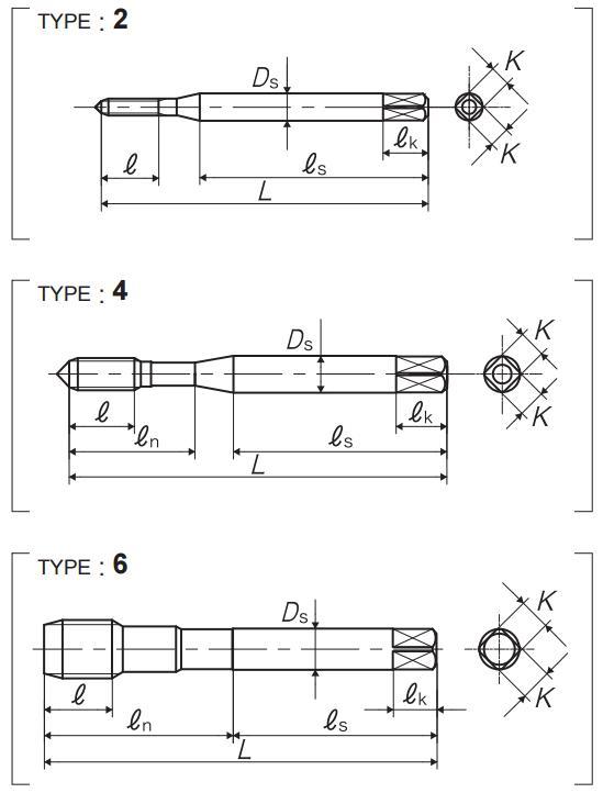 yamawa(SP系列)螺旋丝锥攻的几种样式-韦德科技(深圳)有限公司0755-26656615
