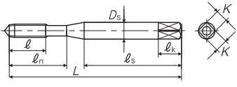 N+RS/N-RS非铁合金用挤压丝攻图片解析-韦德科技(深圳)有限公司