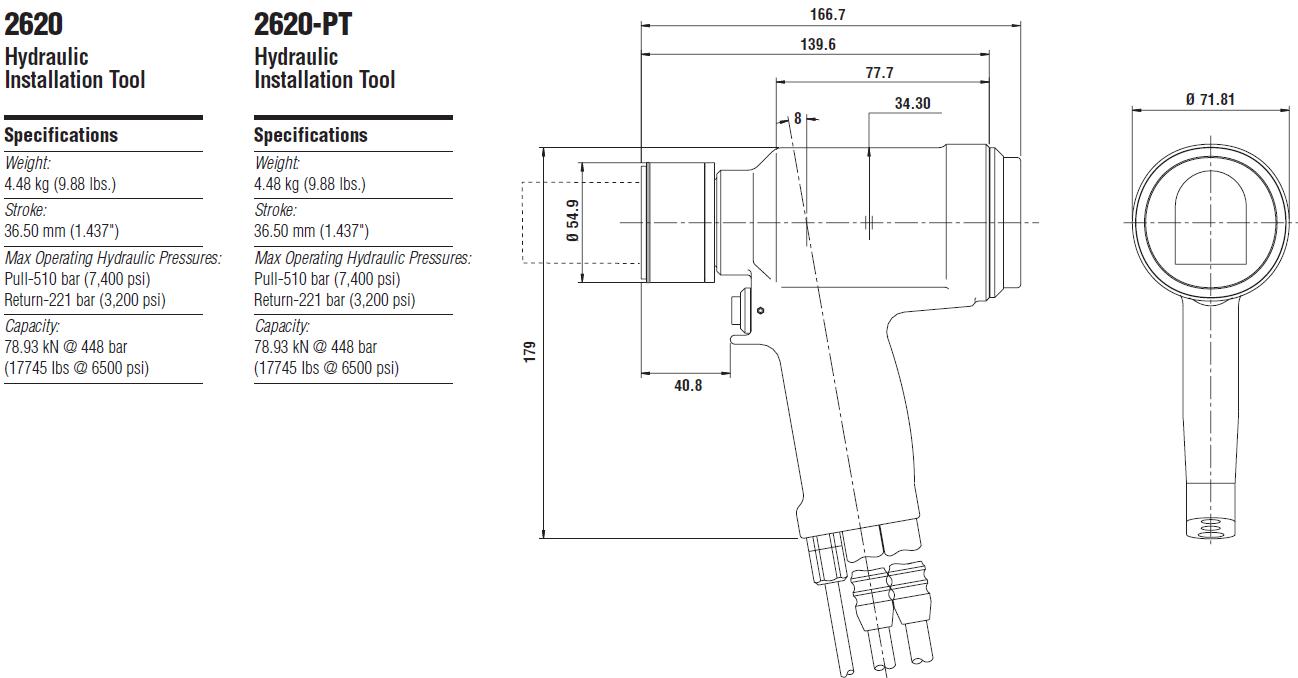 Huck2620 液压铆钉枪—韦德科技0755-26656615
