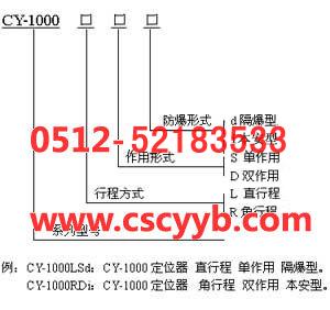 CY-1000LSM-PTM带反馈阀门定位器;CY-1000LSN-PTM阀门定位器