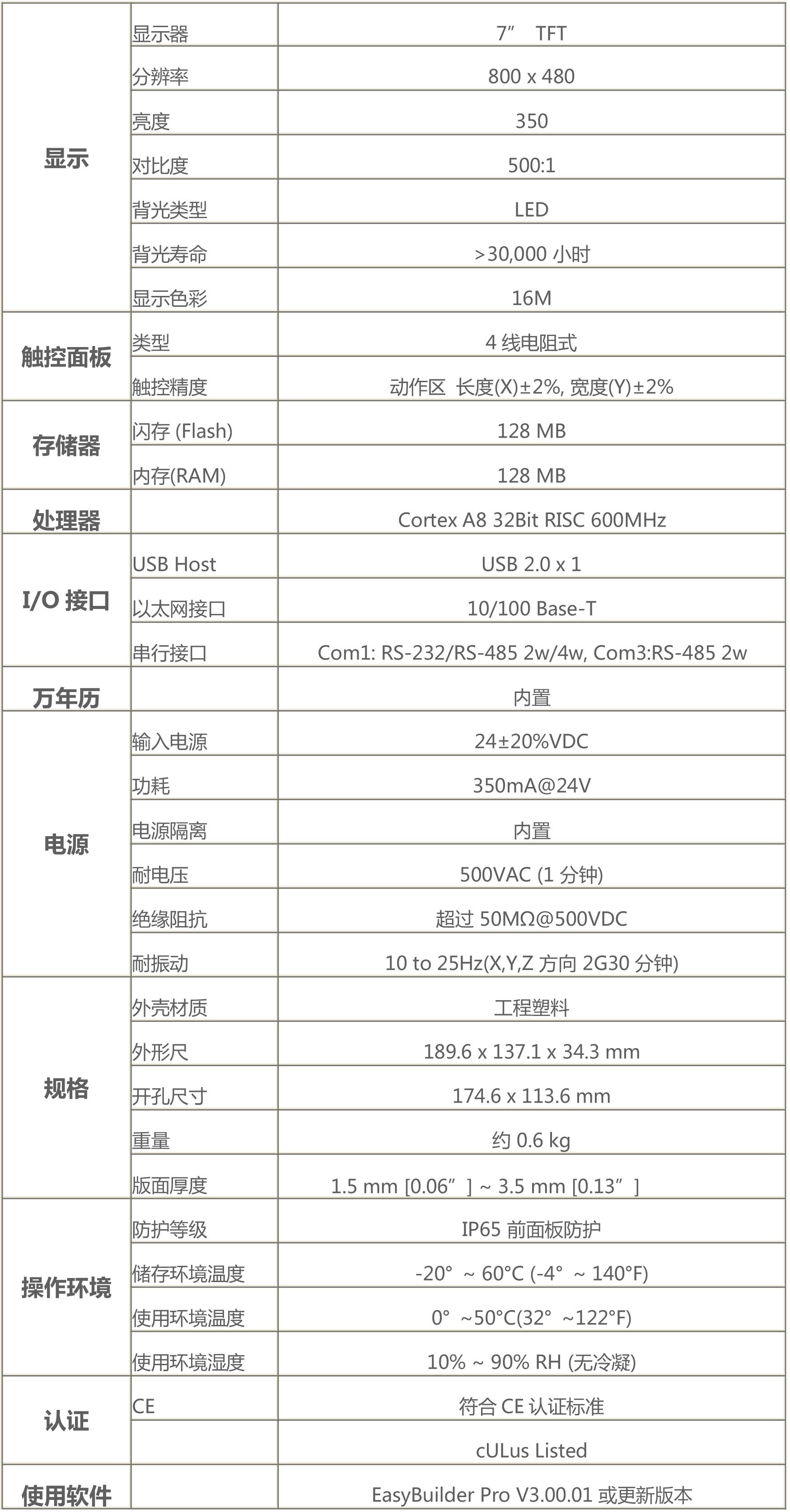 广东MT8071IER威纶通触摸屏代理商