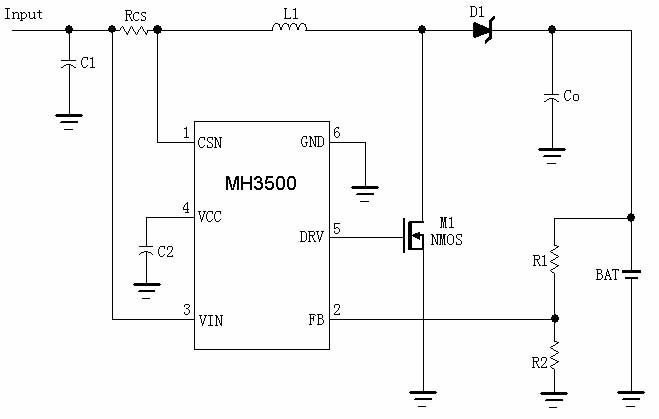 升压型锂电充电管理