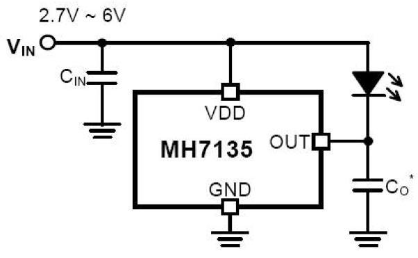LED手电筒电路