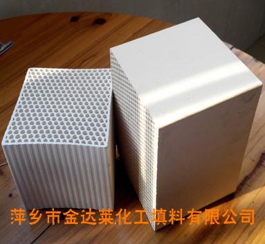 莫来石质蜂窝陶瓷蓄热体 萍乡金达莱