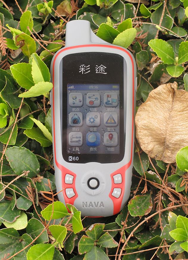 华辰北斗彩途K60手持GPS定位仪