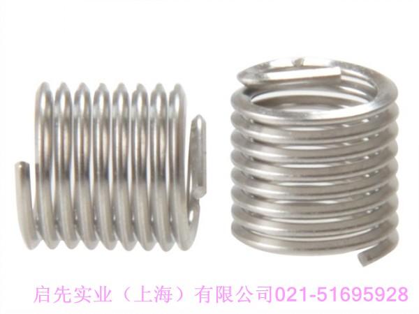 原装进口kato无尾钢丝螺套价格,哪里卖m3-0.5无尾钢丝螺套