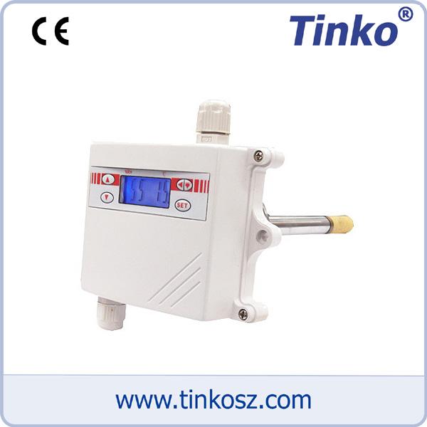 蘇州天和儀器 溫濕度變送器 TKSD 管道式溫濕度變送器(帶液晶顯示)