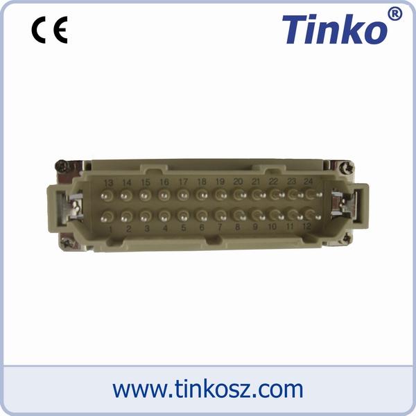 苏州天和仪器 热流道温控箱配件-24芯公芯插座