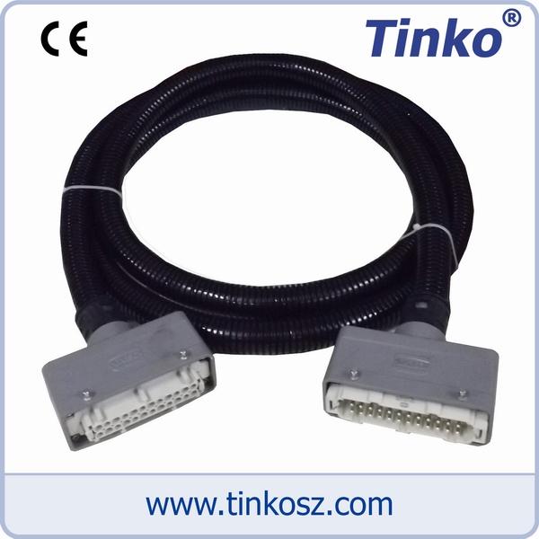 苏州天和仪器 热流道温控箱配件-热流道复合管线缆