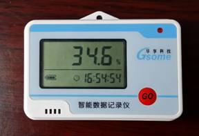 冷藏运输型温湿度记录仪-带显示