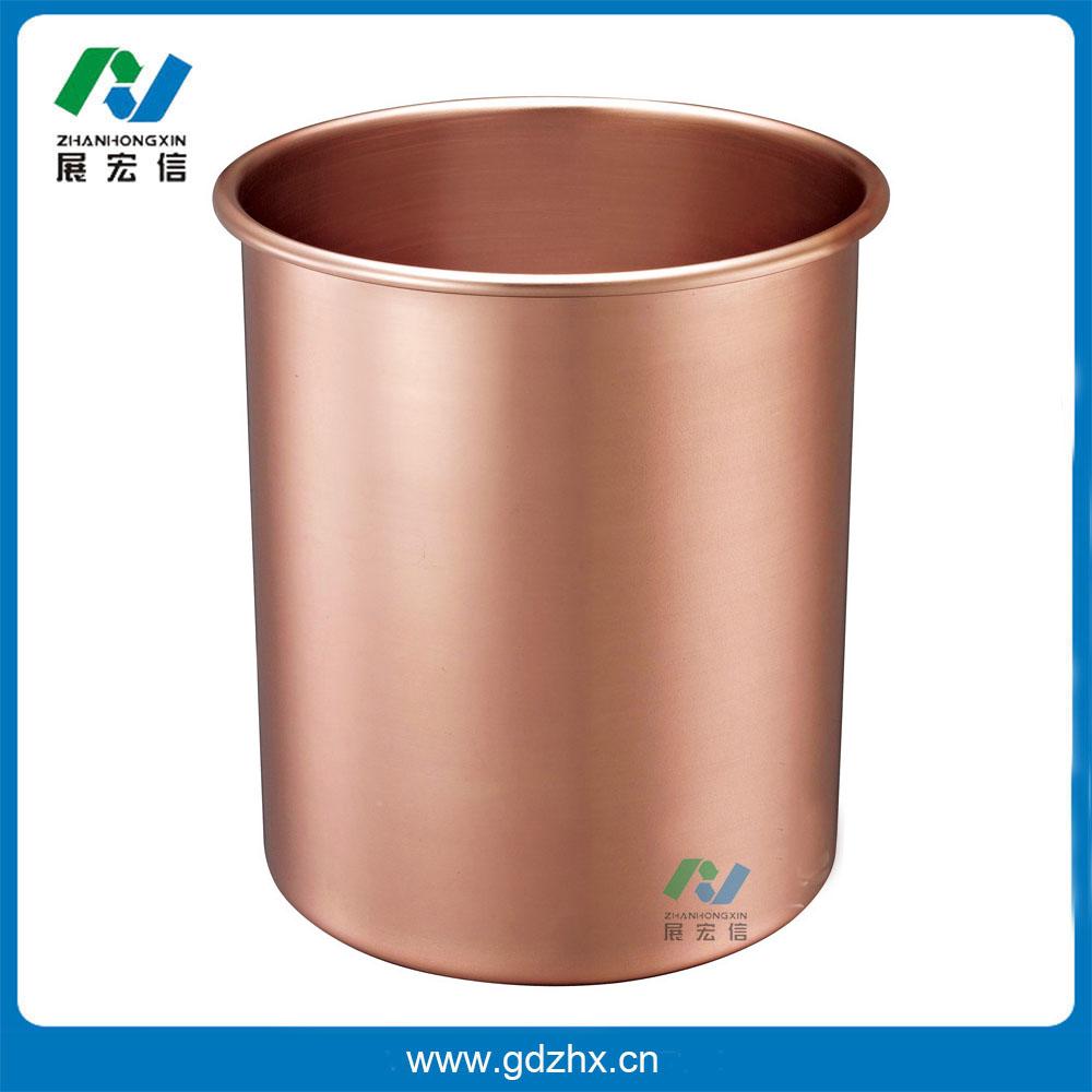 铝合金圆形房间桶(玫瑰金、GPX-3C)