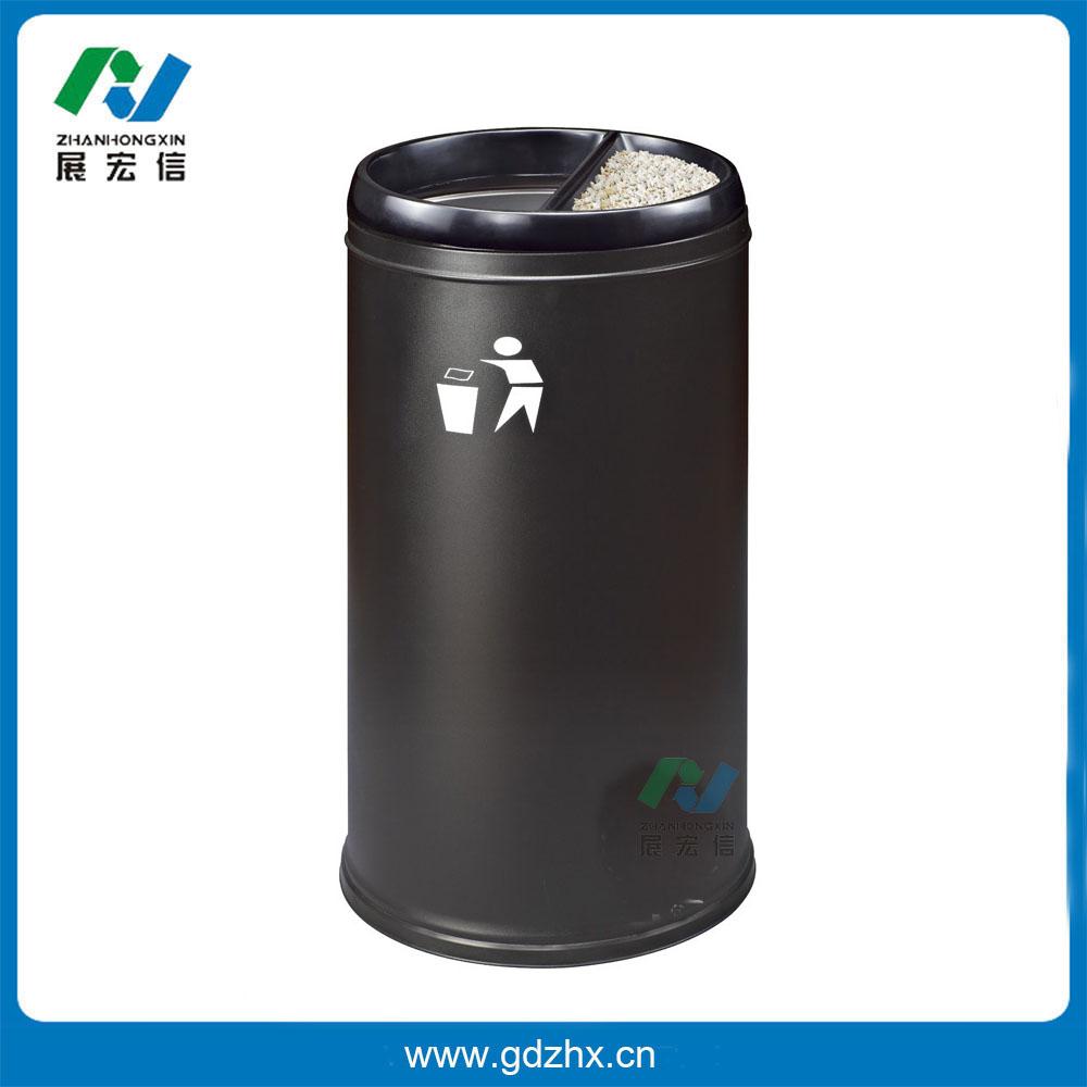 港式垃圾桶(黑色、GPX-110H)