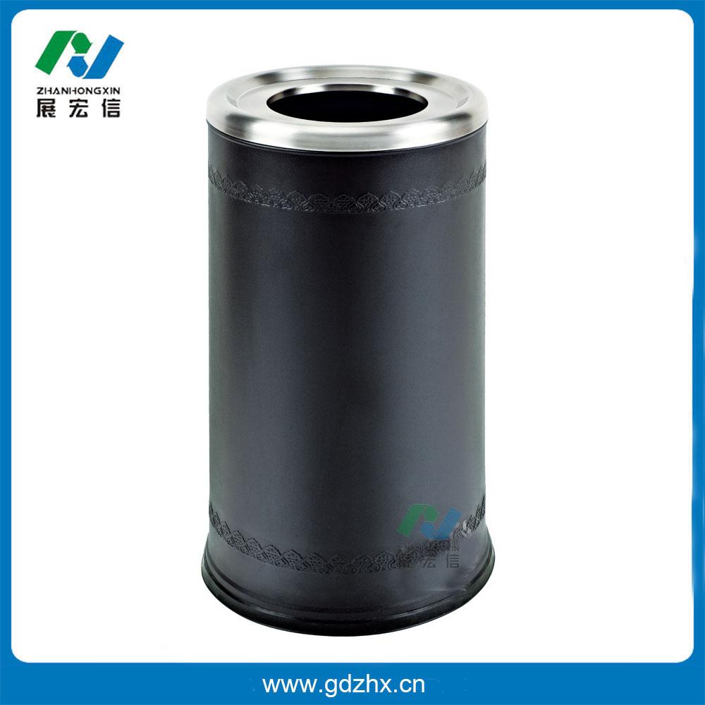 港式垃圾桶(黑色、GPX-110N)