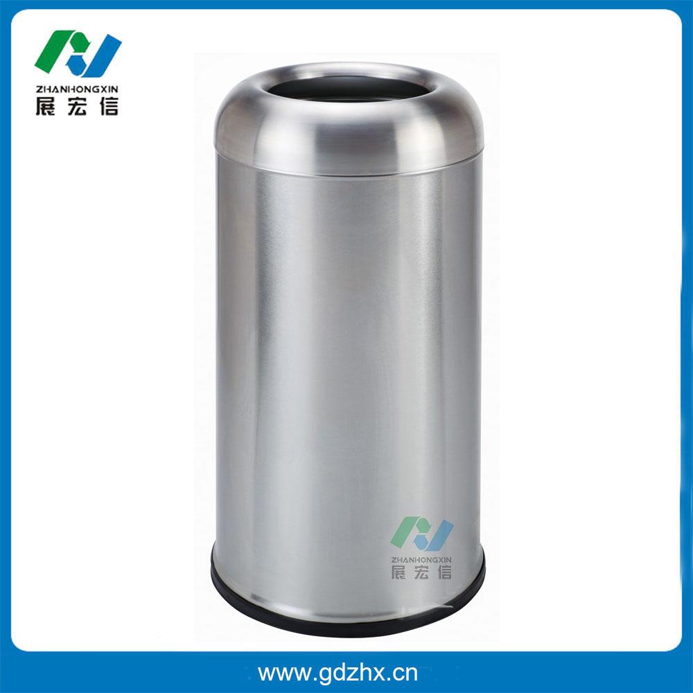 港式子弹头垃圾桶(GPX-110U、砂钢)
