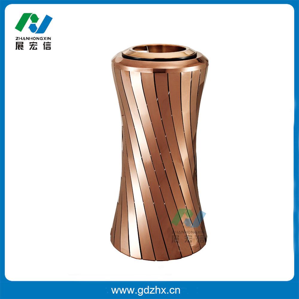 小蛮腰座地烟灰桶(玫瑰金、GPX-209E)