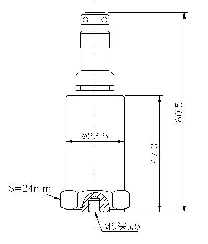 RC6800压电加速度传感器