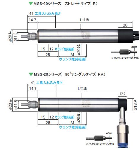 NAKANISHI气动主轴MSS-20