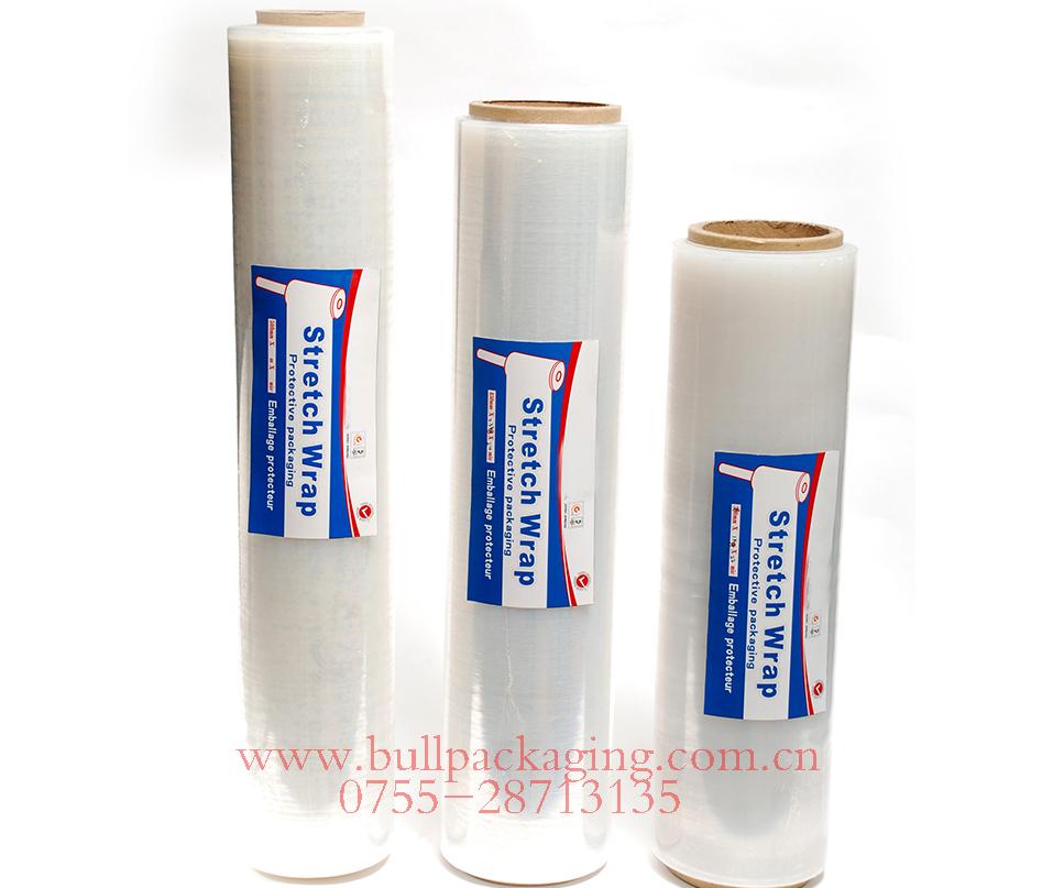 High Quality 25 micron pallet stretch film 450*500m