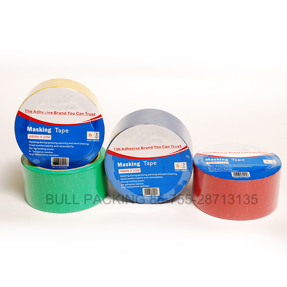 Cheap Excellent Adhesion and Good Quality Masking Tape