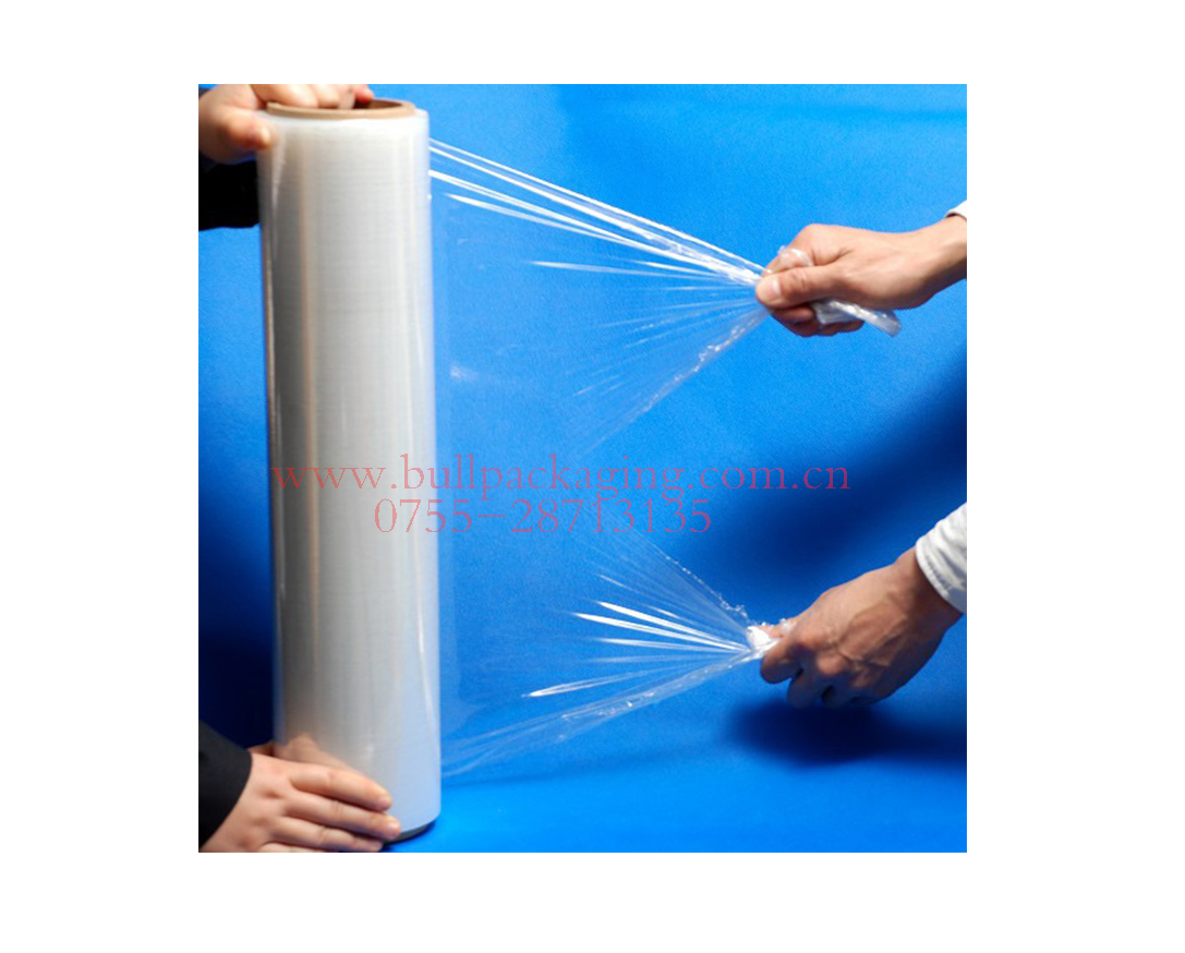 transparent wrapping stretch film rolls hand use wrap film rolls