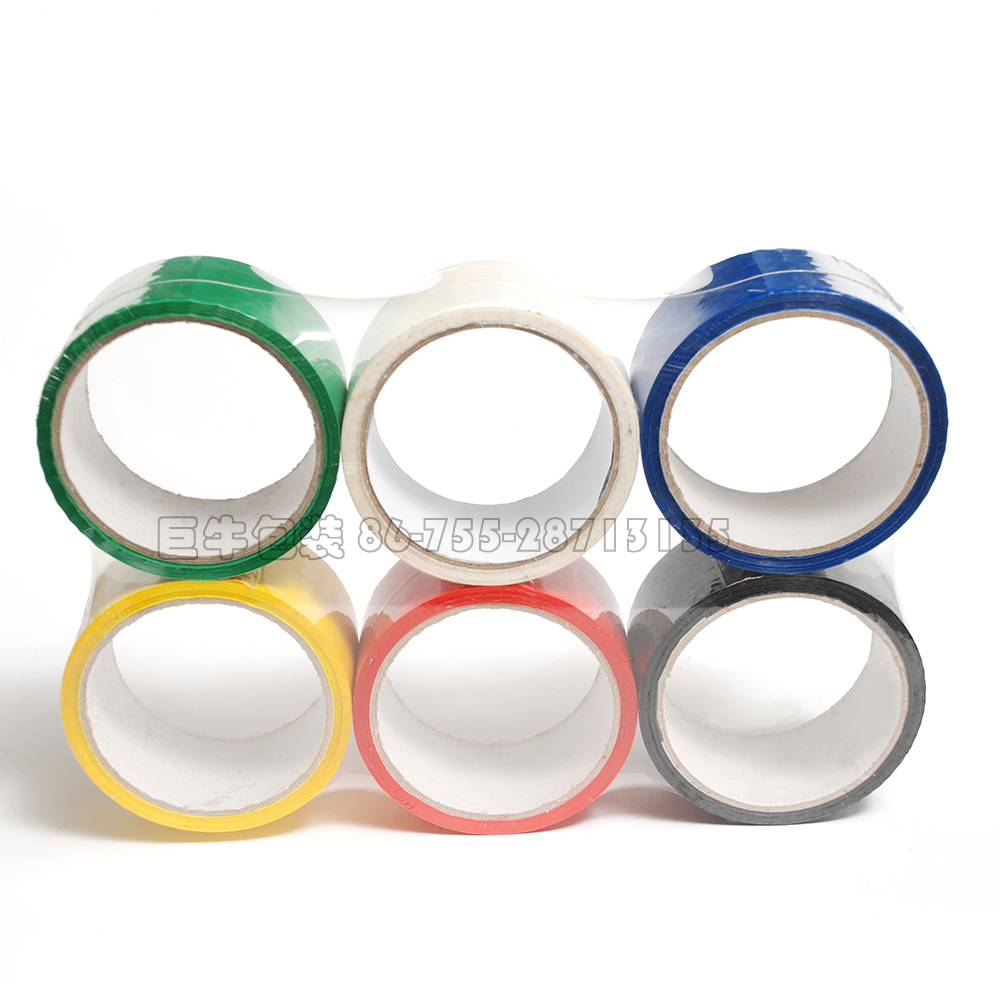 strong adhesive colorful custom BOPP packing tape