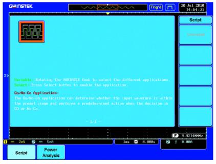台湾固纬GDS-3502双通道500MHz数字示波器,,LCD显示(TFT真彩色),2CH,4GS/s,25K点记忆长度,100 GS/s等效采样率,VPO显