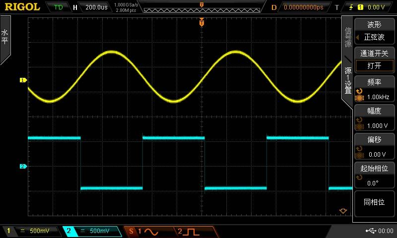 北京普源MSO2302A-S数字示波器,300MHz带宽,双通道,2GSa/s采样率,16通道逻辑分析,双通道25MHz任意波信号源,标配14M存储深度,