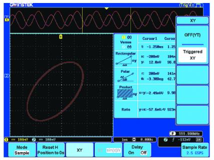固纬GDS-3354数字存储示波器