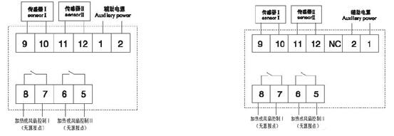 安科瑞WH48-10/H 嵌入式安装 一路除湿 张娟选型报价 厂家直销