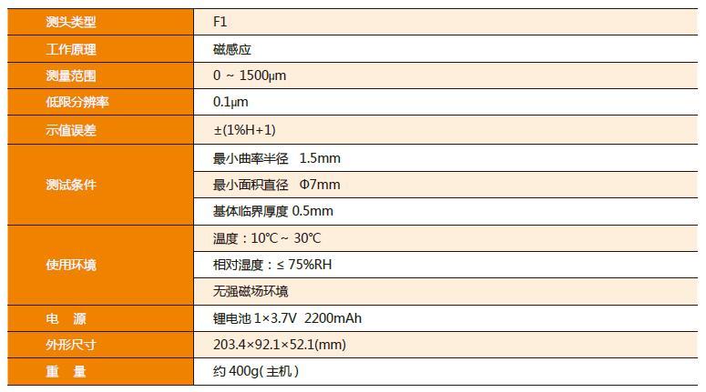 时代TIME®2605高精度覆层测厚仪