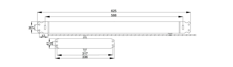 安科瑞电气AFRD-DC防火门电磁释放器 Acrel