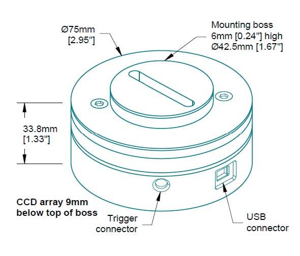 室温型线阵CCD 探测器LARRY-3648