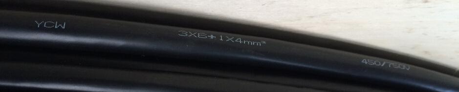 YZ YC 橡套电缆