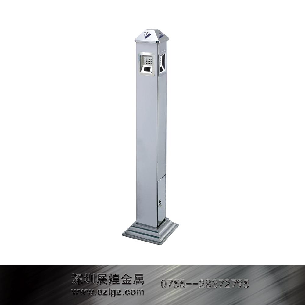 镜钢1.12米高烟灰柱
