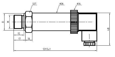 压力变送器4-20ma 数显