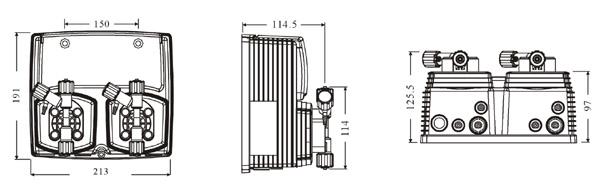 意大利EMEC计量泵W系列