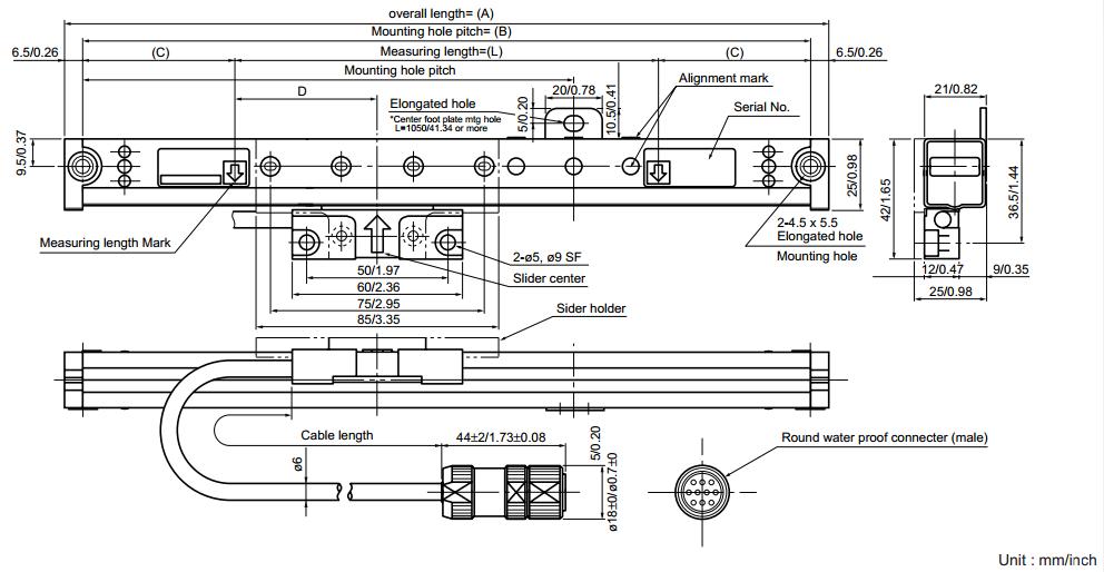 PL25-3磁栅读数头